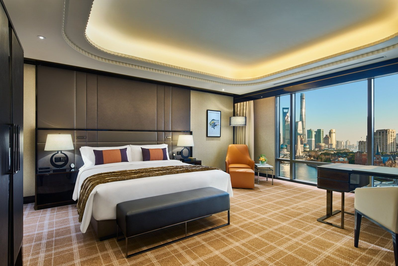 One of the Bellagio Shanghai rooms