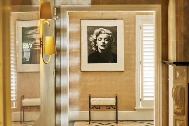 Marylin Monroe's Suite at the Beverly Hills Hotel
